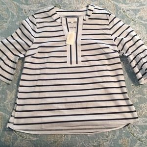 Mud pie Shay Tunic Navy Stripe